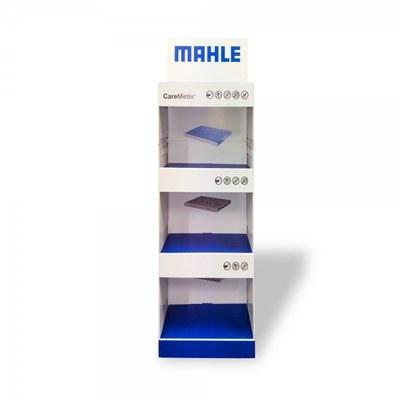 Warenträgerdisplay aus Pappe in verschiedenen Formaten und Ausführungen - mahle caremetrix display front