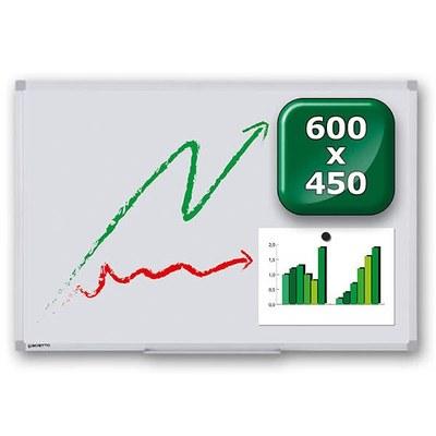 Whiteboard PREMIUM zur Wandmontage Außenformat: 600x450mm (B/H) 600x450x15 mm - whiteboard-premium-600x450