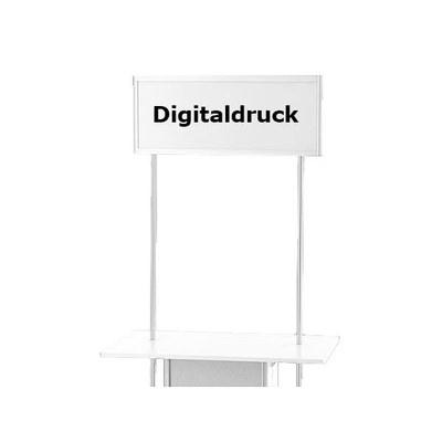 Druck auf Topschild ALLEGRO®-Rechteckth. Digitaldruck auf Topschild für Rechteck- theke mit geteilter & durchgehender Front - Zubeh r-Topschild-Digitaldruck 7